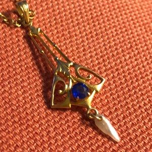 Jewelry - Edwardian lavaliere necklace.